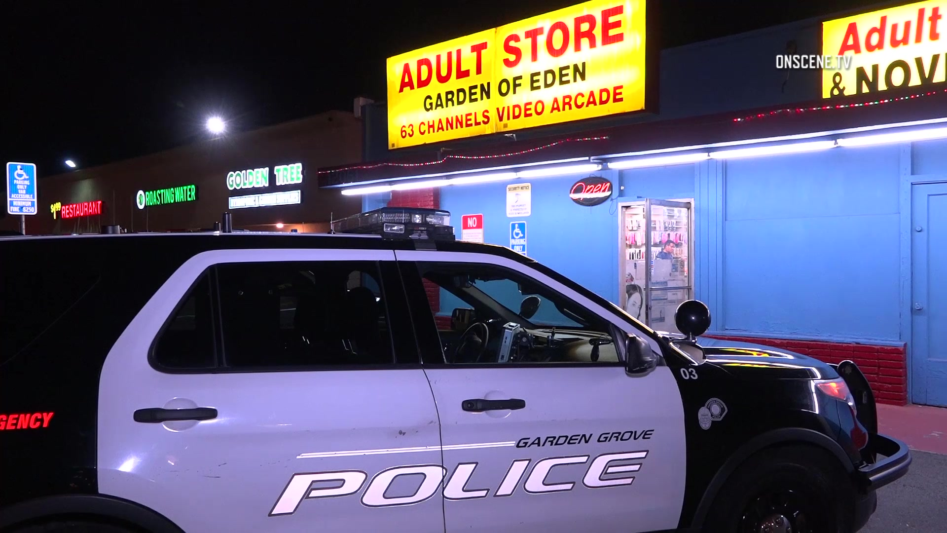Clerk Assaulted In Garden Grove Adult Bookstore Robbery