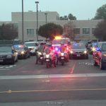 Pomona police escort
