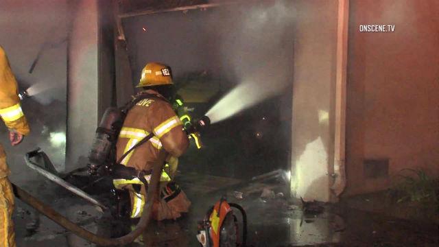 Garden Grove Apartment Fire Displaces 10