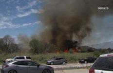 Montebello brush fire