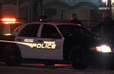 Pomona Police at crime scene