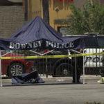 Downey crime scene