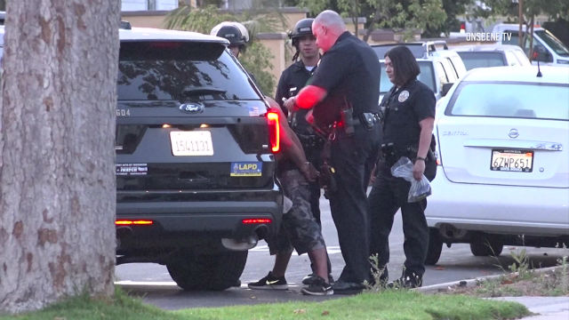 Police detain shooting suspect