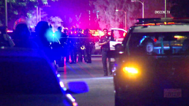 Police at scene of North Hollywood shooting