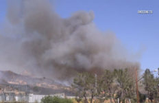 Santa Clarita brush fire