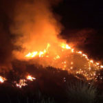 Brown's Canyon brush fire