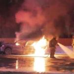 Norwalk car fire