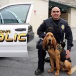 Pomona Police dog