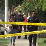 Crime sceine in Whittier