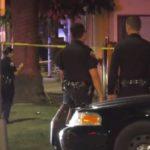 Police at Long Beach shooting