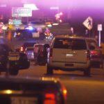 Sheriff's vehicles at the scene