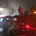 Firefighters battle blaze in Huntington Park