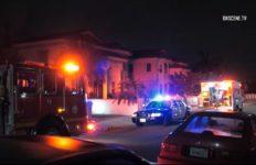 Crime scene in Rosemead