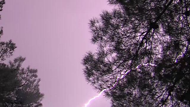 Lightning in Apple Valley
