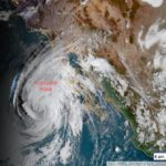 Satellite image of Hurricane Rosa