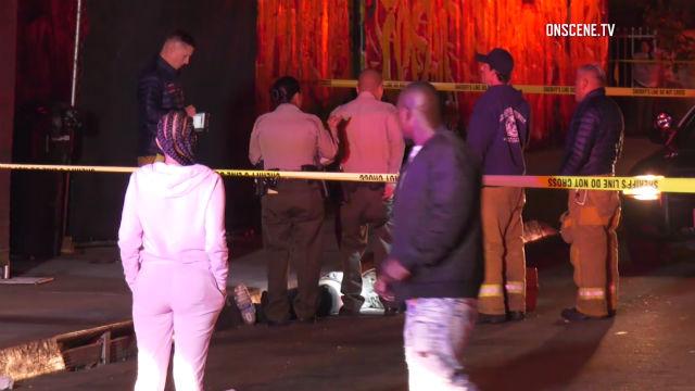 Crime scene in Westmont