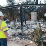Inspectors assess Woolsey Fire damage