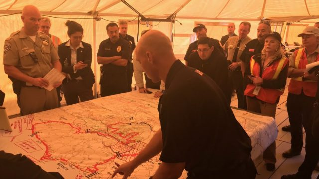 Officials discuss removing evacuation orders