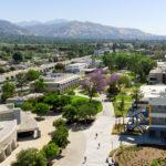 Aerial view of Citrus College in Glendora