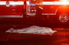 Victim's body