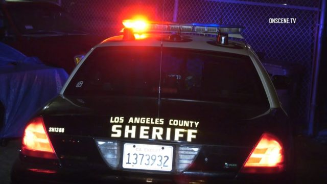 Los Angeles Sheriff's cruiser