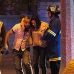 First responders assist crash victims