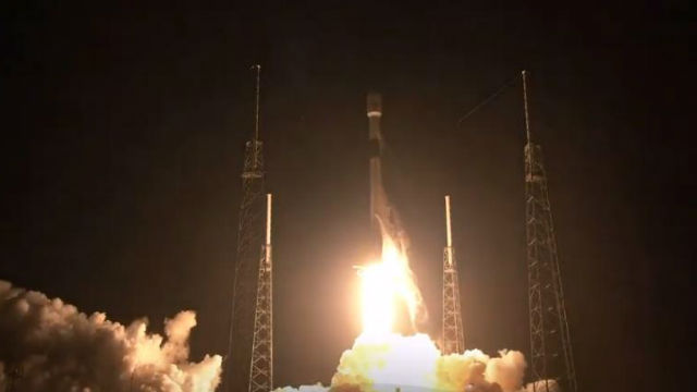 SpaceX Falcon 9 launches from Florida