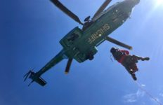 Los Angeles Sheriff's helicopter