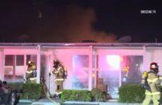 Burning smoke shop