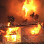 Firefighters battle blaze in Harvard Heights