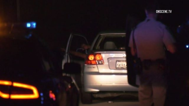 Driver surrenders to CHP officers