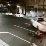 Surveillance image of hit-and-run