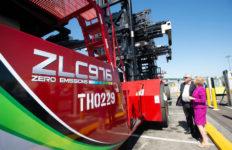 Zero-emission cargo handler