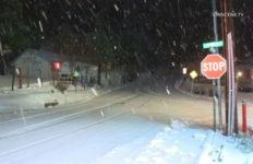 Snow in Crestline