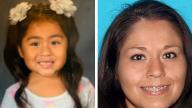 Amber Alert mother and child