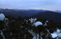 Snow on Mount Wilson