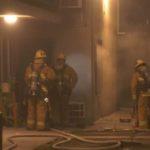 Firefighters in Van Nuys