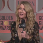 Laura Dern at the Golden Globes