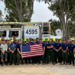 Angeles National Forest firefighters in Australia