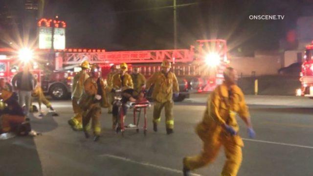First responders in Echo Park