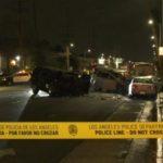 Wreckage in North Hills crash