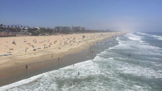 Social Distancing at Beach