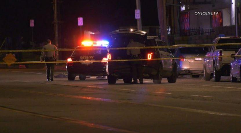 Deputies at scene of shootings in Palmdale