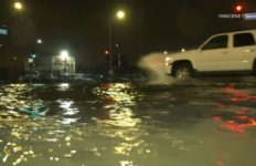 Flooding in the San Fernando Valley