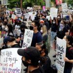 Asians for Black Lives protest