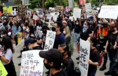 Asians for Black Lives protest