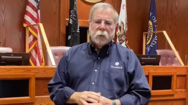 Palmdale Mayor Steve Hofbauer