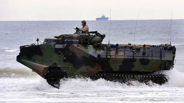 Marine Corps amphibious vehicle
