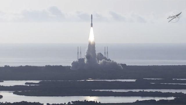 Perseverance Mars mission blasts off