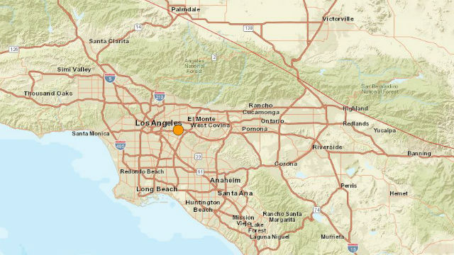 California quake rattles LA; centered near deadly 1987 temblor